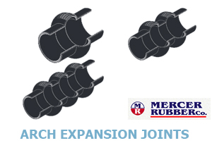Click for Mercer Rubber's Arch Expansion Joints