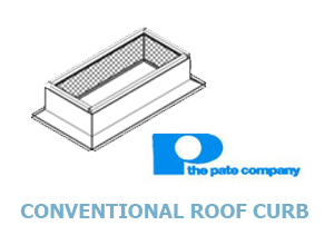 Click for Pate's Conventional Roof Curbs