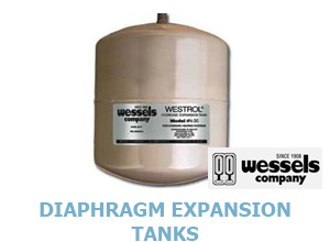 Click for Wessels Expansion Diaphragm Tanks