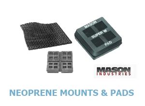 Click for Mason Industries Neoprene Mounts & Pads