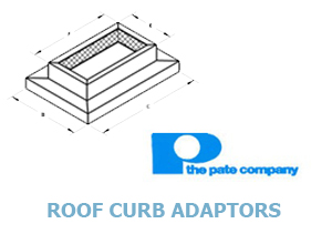 Click for Pate's Roof Curb Adaptors