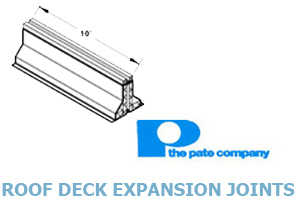 Click for Pate's Roof Deck Expansion Joints