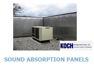 Click for Koch Sound Absorption Panels